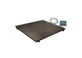 STOCK-ARTIKEL Plateauweegschaal KPZ 2 Capaciteit 3000 kg        Verdeling 500/1000g        Plateau: 1250 x 1500mm